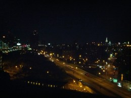 last night for this view