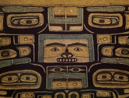 Park of a ceremonial dress in: First Peoples of the Northwest Coast