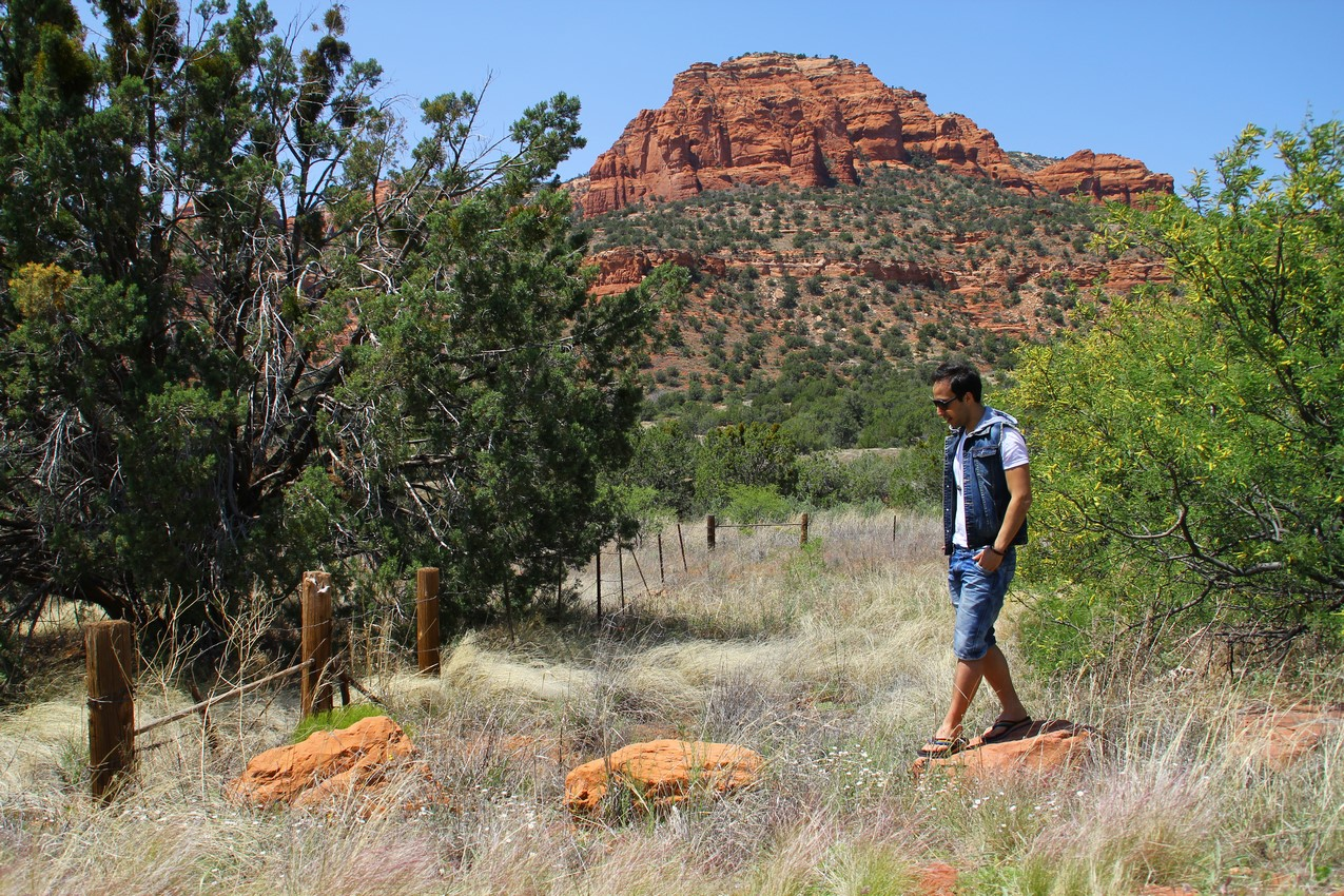 Alec at red rocks