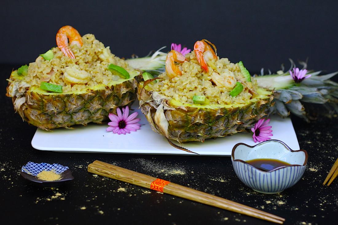 Grain Free Pineapple Fried Rice (GF, Paleo, AIP)