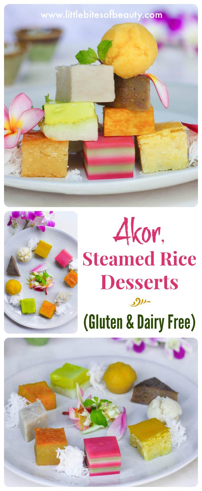 Akor. Gluten & Dairy Free Rice Desserts from Cambodia