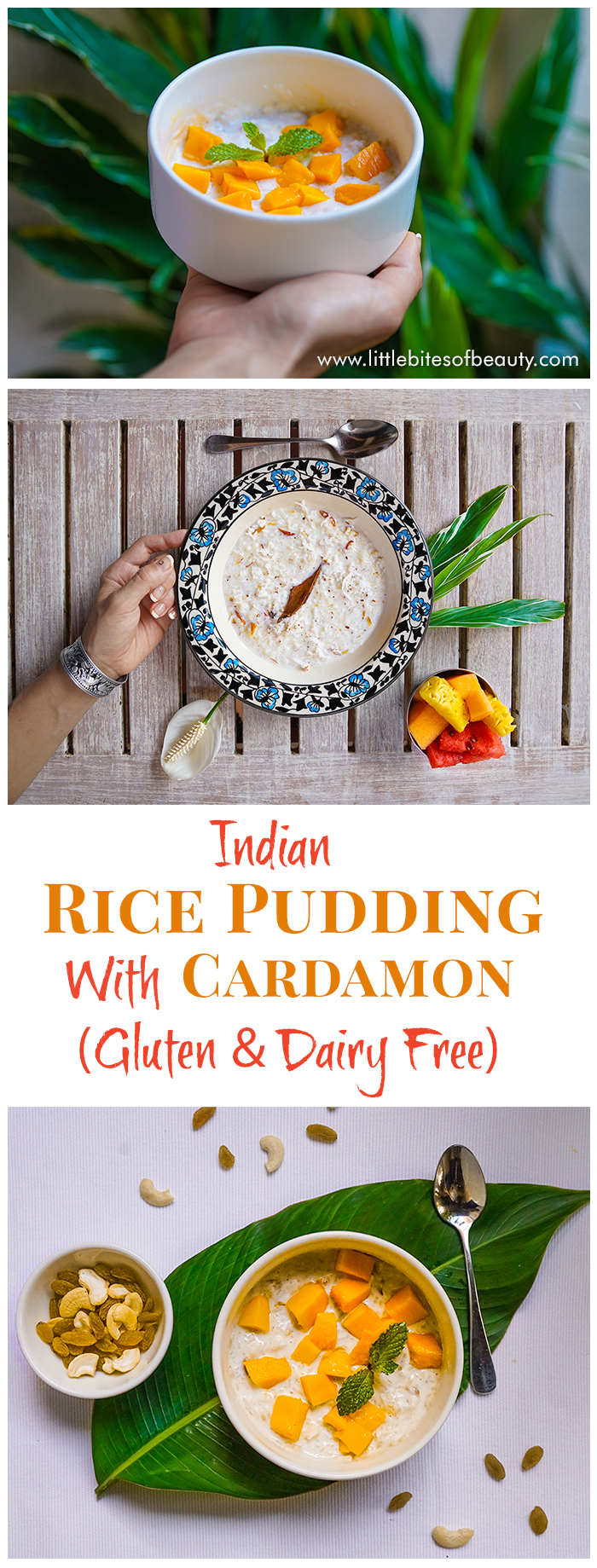 Kheer - Indian Rice Pudding With Cardamom (Gluten Free & Dairy Free)
