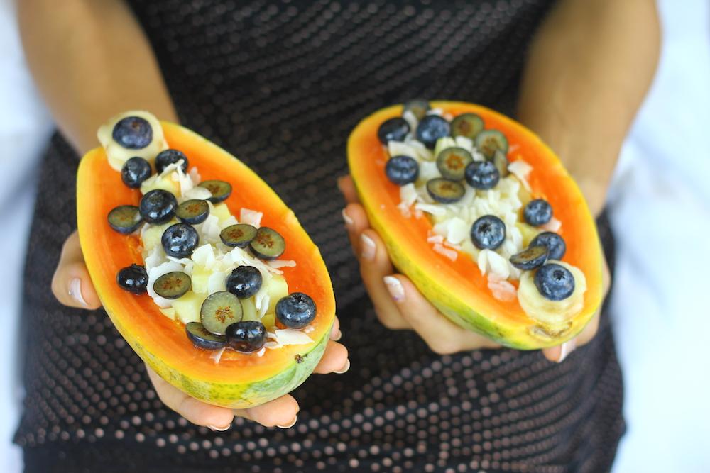 How to Make Papaya Boats 2