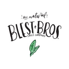 little bit heart | branding design, logo and website design - food company, spice & seasonings - blest bros spice company