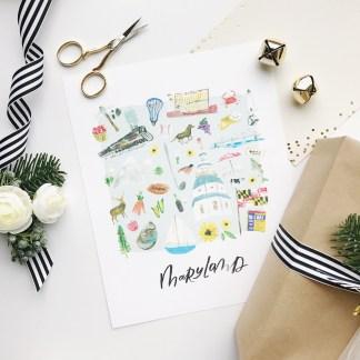 irl_littlebitheart-holiday-maryland-illustrated-art-print
