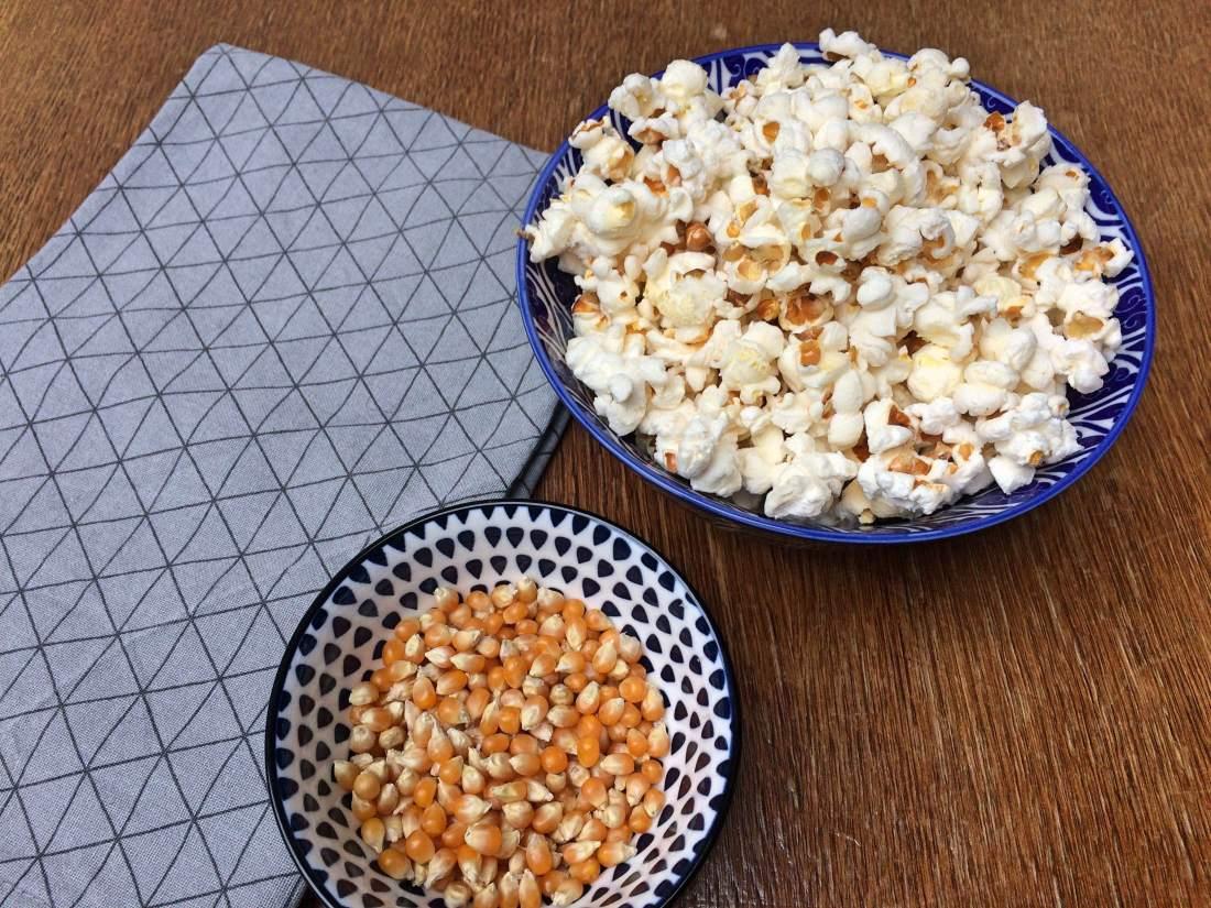Popcorn maken