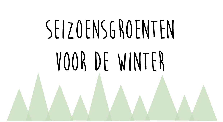 seizoensgroenten voor de winter