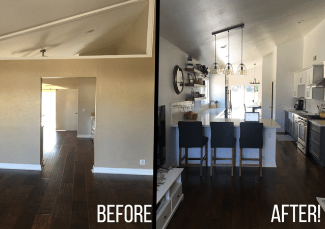 My Kitchen Remodel  Before   After      Little Bits of    Before and after of my 5 week Kitchen Remodel