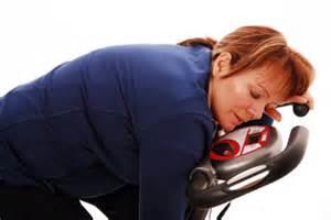 sleeping at gym