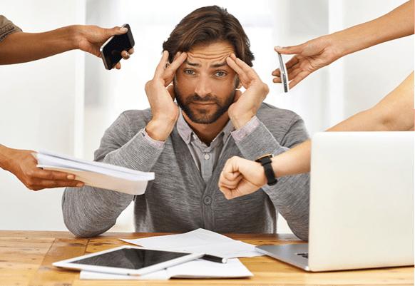 work-stress-man