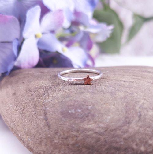 Handmade Sterling Silver Stargazer Ring
