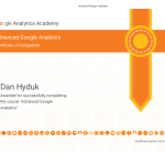 Advanced-Google-Analytics-Certificate