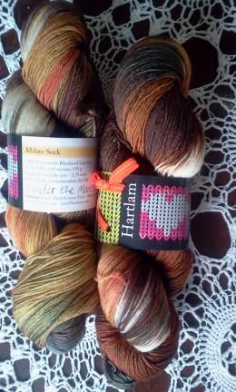 New Wool Stash Hartlam Yarn Wander the Moors