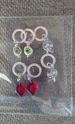Stitch Markers for my Swap Buddy