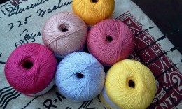 New Crochet Cottons