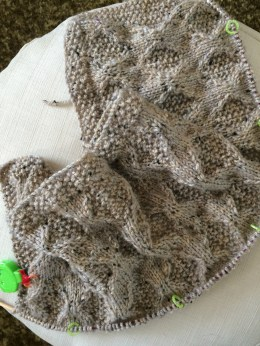 Moss and Diamond Blanket