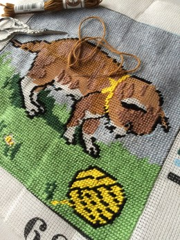 Tapestry stitching