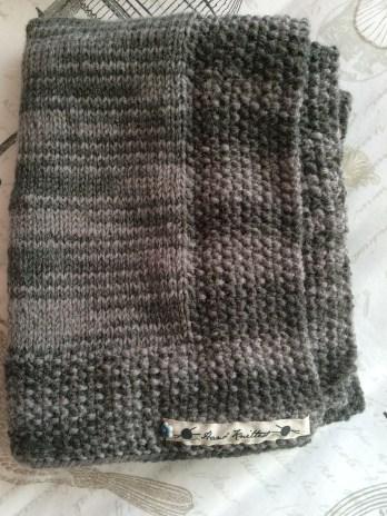 Grey Alpaca Wrap