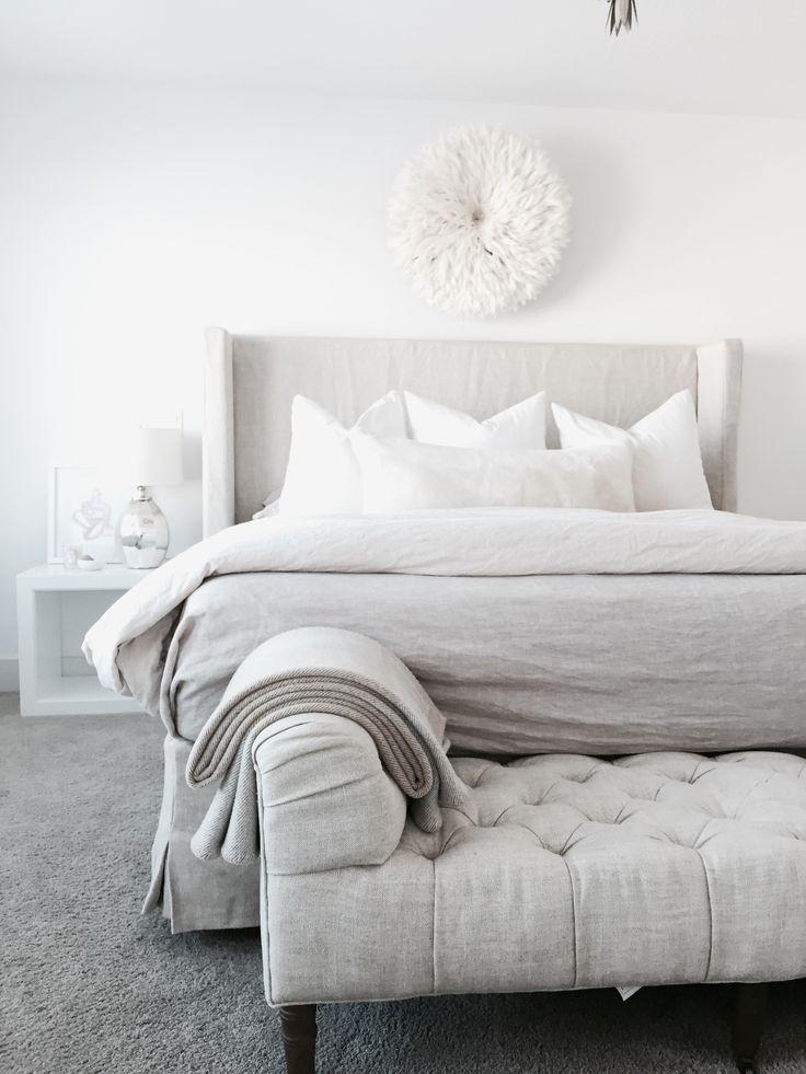 Comfortable Luxury In Bedrooms and littleblackdomicile - image via pinterest