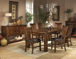 "Dark Wood Dining Room ""Set"""
