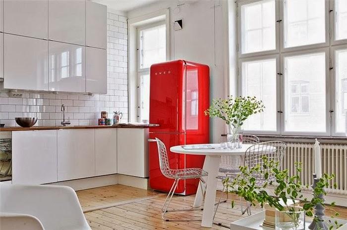 Red Refrigerator