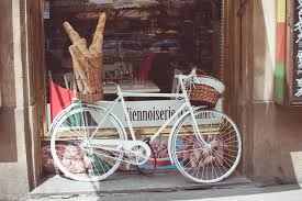 Bike in front of Bakery