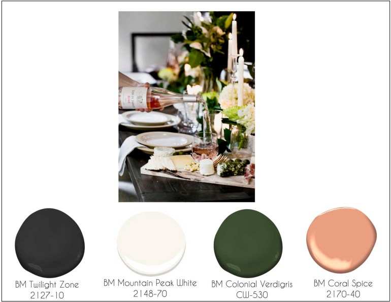 The Rose' Decor Palette