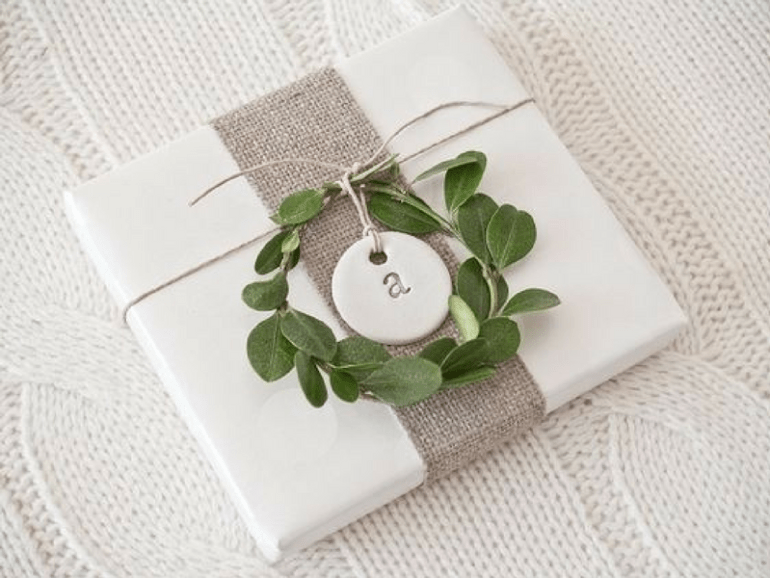Initial Gift Wrap