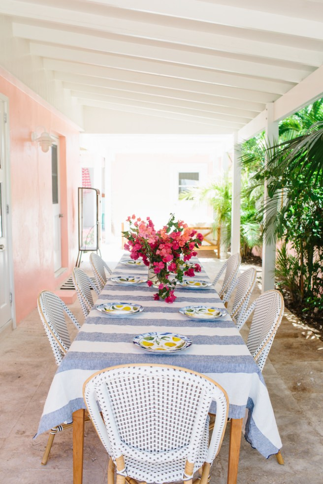 Tropical Alfresco Dining