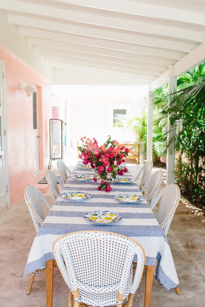 Tropical Alfresco Dining