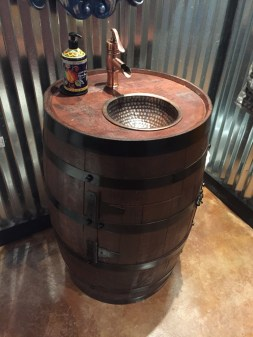 Barrel Sink
