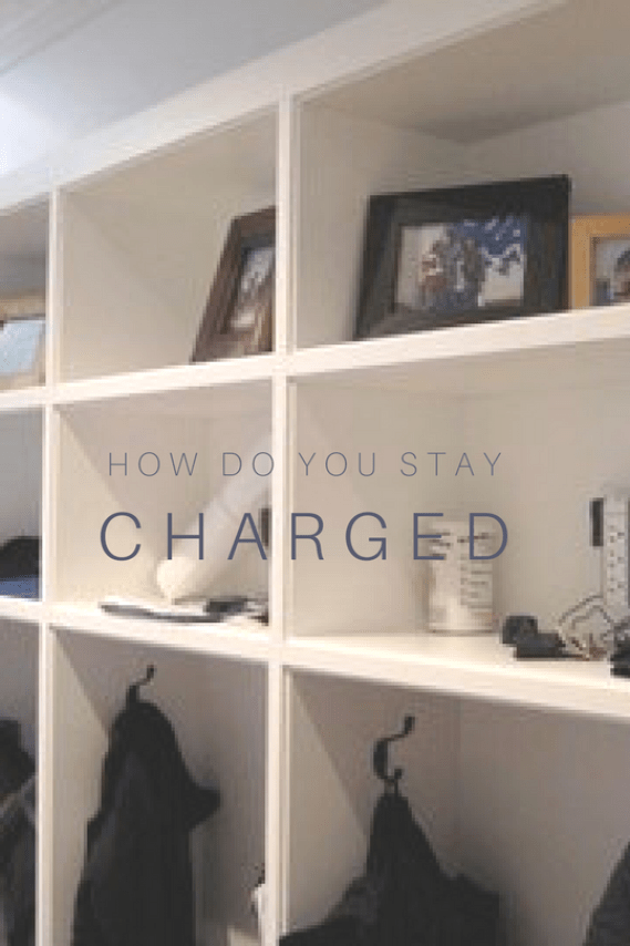 Creating Charging Stations for Electronics, Charging Electronics, littleblackdomicile.com