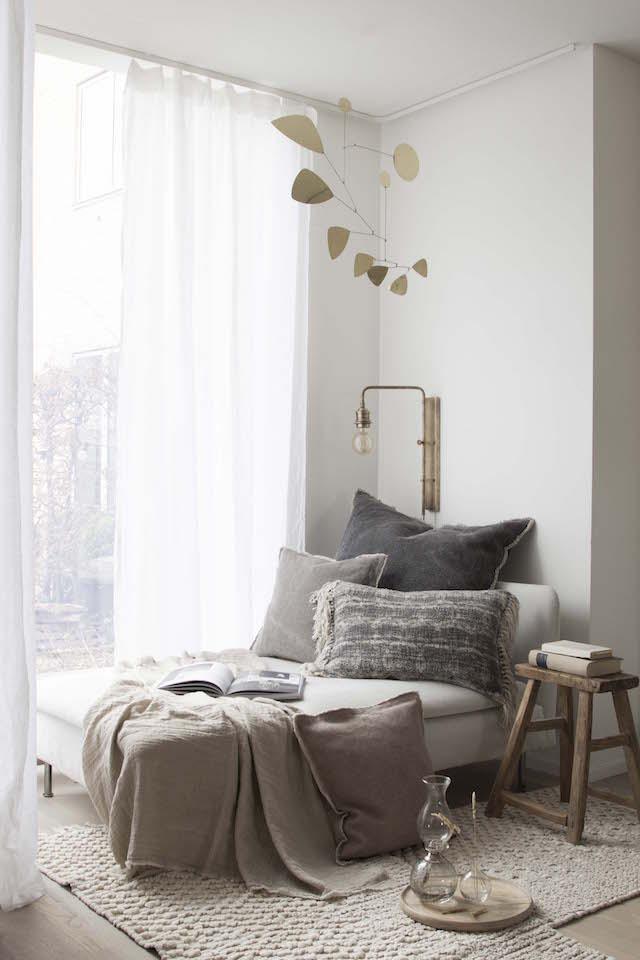 My Scandinavian Home-Cozy Reading Nook