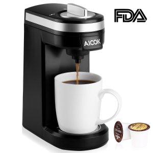 AICOK Single Cup Coffee Maker http://amzn.to/2iR47l0