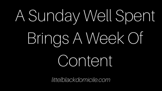 A-Sunday-Well-Spent-Brings-A-Week-Of-Content