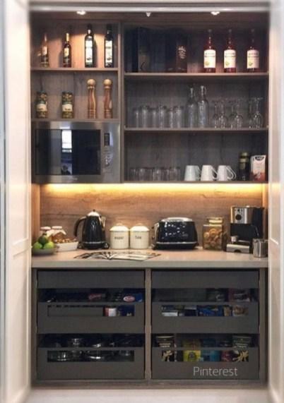 Morning Bar In Pantry via Pinterest