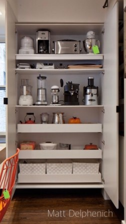 small appliances rule in this pantry by matt delohenich