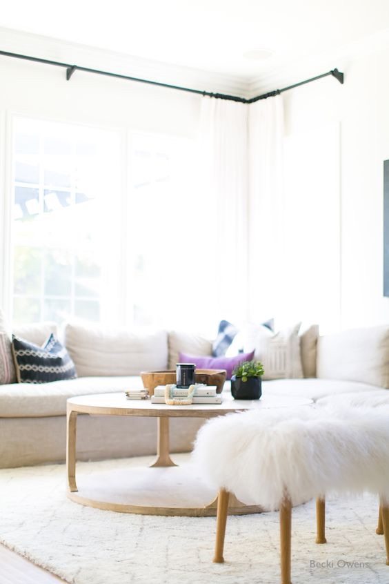 Becki Owens Some Rooms Are Just Made For Throws Like This Soft Neutral Living Room