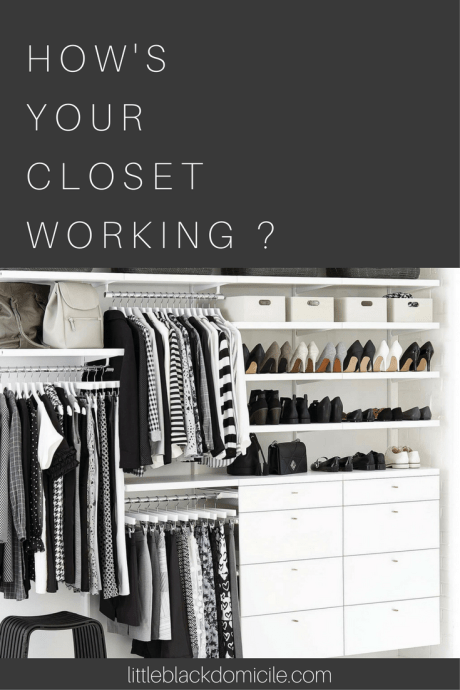 Pinterest and Littleblackdomicile - Walk In Closets With Style