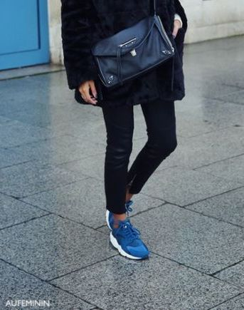 aufeminin blue sneakers