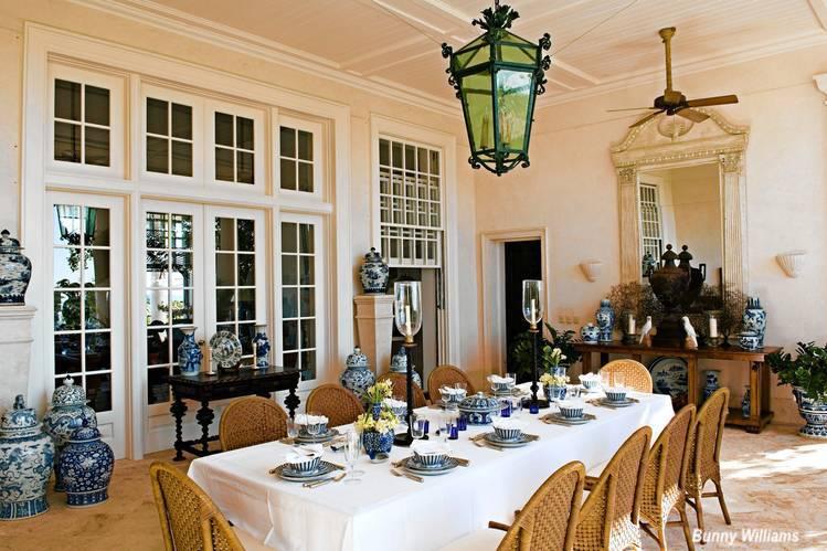 Bunny Williams Al Fresco Dining