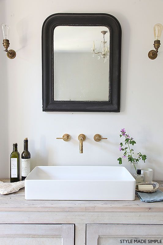 stylemadesimple wall mount vanity faucet
