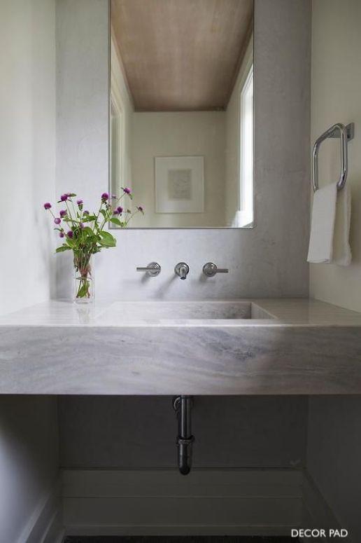 decor pad wall mount bathroom sink vanity faucet