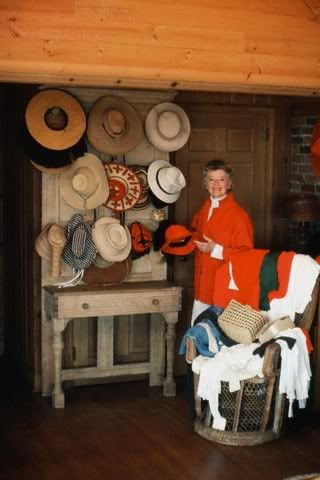 Katherine Hepburn Infusing Red Into A Decor