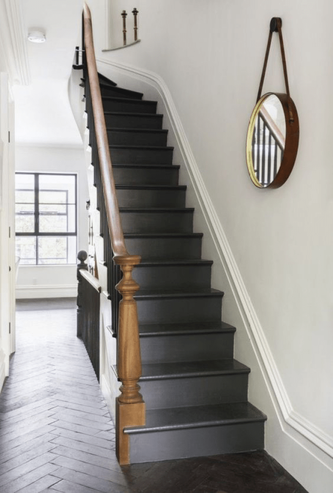Pinterest Black Staircase