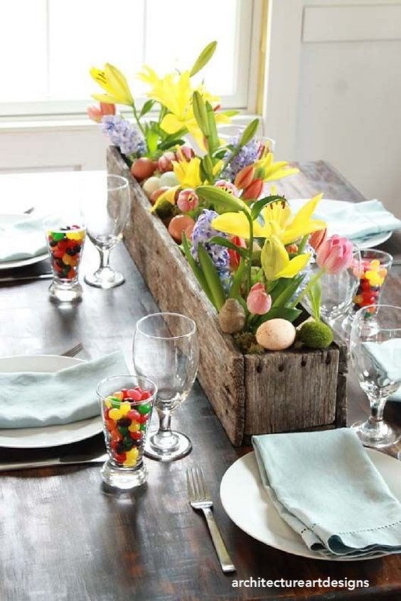 architectureartdesigns-jelly bean easter table