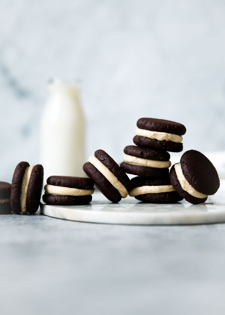 Espresso-Brownie-Sandwich-Cookies-Broma Bakery
