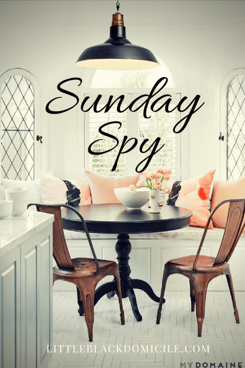 Sunday Spy and littleblackdomicile Savor Sunday