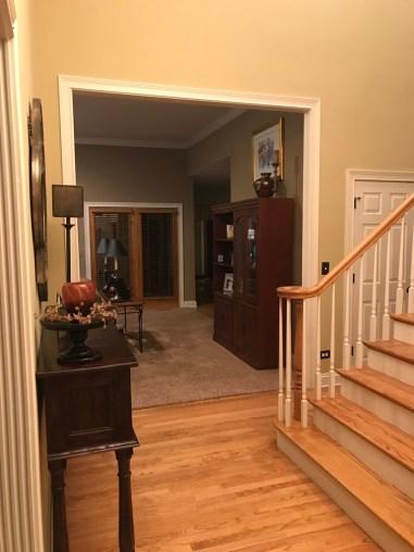 littleblackdomicile-sykcrest foyer- before updates