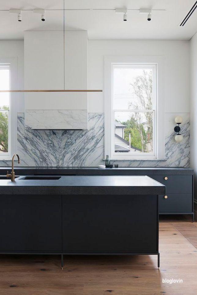 bloglovin black modern kitchen island
